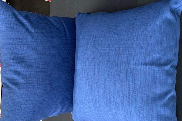Navy Single Cushions