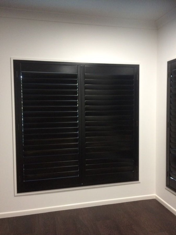 black ash timber shutter blinds - Gallery