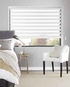 Curtain Trend Vision Blinds White Bedroom 243x300 - Vision Blinds Now Available at Curtain Trend