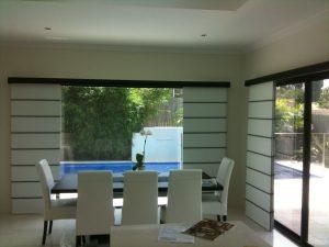 plantation panel blinds