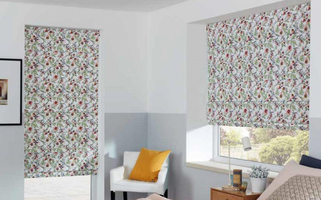 Louvolite Roman Blinds with a Modern Twist