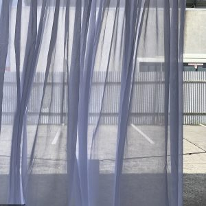 Dario Polar 3 300x300 - Custom made Sheer Curtain to fit window size 2750 mm wide in silky white colour