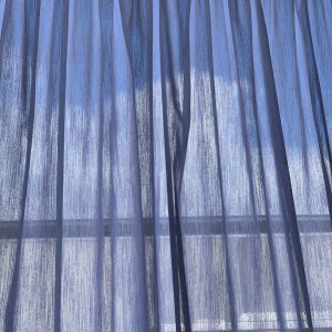 Stratus chalk knife pleat 2 300x300 - Custom made Sheer Curtain to fit window size 3600 mm wide in textured white colour
