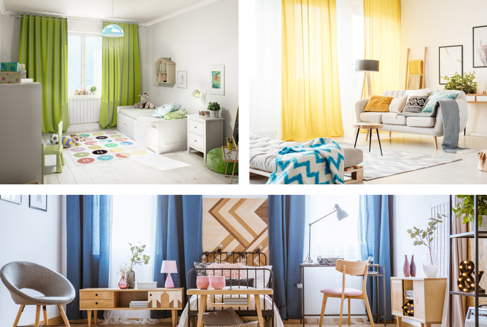 Colour Therapy – Transform Your Home with Curtains